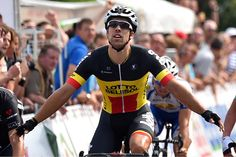 Gallery: 2014 Tour de Wallonie - Stage 1 of the Tour de Wallonie was Jens Debusschere's first win in his national champion's colors Photo: Tim De Waele   TDWsport.com