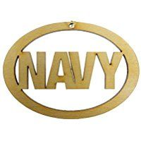 Personalized US Navy Ornament - Navy Gifts - Navy Decor - Military Gifts Army Gifts, Military Gifts, Retirement Gifts For Men, Us Army, Graduation Gifts, Troops, Ornament, Navy, Funny
