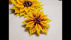 Beaded Jewelry Patterns, Beading Patterns, Beading Projects, Beaded Flowers, Creations, Brooch, Beads, Crafts, Bead Earrings