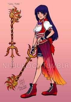 Sailor Moon / Kingdom Hearts Crossover Art Is Cosplay-Ready
