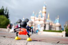 Epic Mickey and Sleeping Beauty's Castle