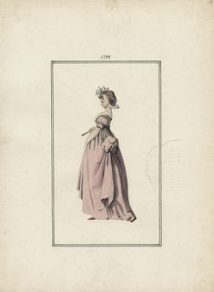 January 1789 Casey Fashion Plates Detail | Los Angeles Public Library