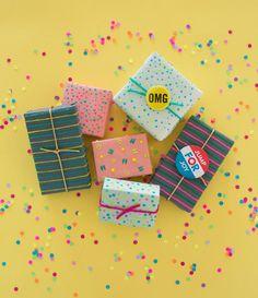 DIYGift Wrap / Oh Joy Book