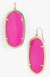 all the colors these come in are great!  Kendra Scott 'Danielle' Oval Statement Earrings