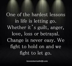 The hardest thing to do, but once you figure it out Life is amazing!