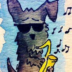 Archy The Scottie Dog