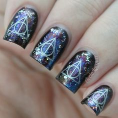 Fandom Cosmetics - Deathly Hallows | Review, Decals | Accio Lacquer