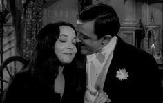 But it doesn't make them less adorable. | Gomez And Morticia Addams Have The Best Marriage Ever
