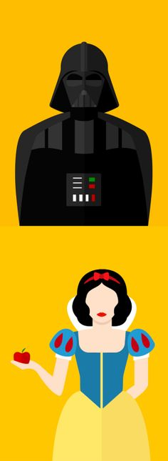 Famous movie characters get flattened for cinema branding