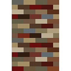 @Overstock - This Multi collection rug offers a contemporary, Traditional design that will add beauty to any decor. This abstract rug features colors of green, blue and red.http://www.overstock.com/Home-Garden/Multi-Color-Collection-Area-Rug-76-x-910/5770860/product.html?CID=214117 $130.99
