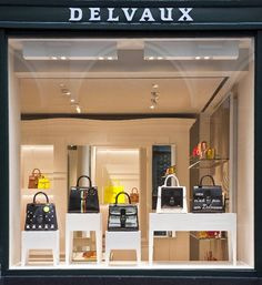 aad33fdca8 The Style Examiner  Luxury brand Delvaux unveils new global retail concept  Retail Concepts