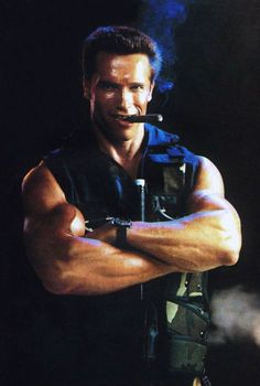 Arnold Schwarzenegger (Commando)one of my favorite movies Arnold Schwarzenegger, Arnold Movies, Predator Movie, Scott Caan, Cinema, The Expendables, Tough Guy, Sylvester Stallone, King Kong
