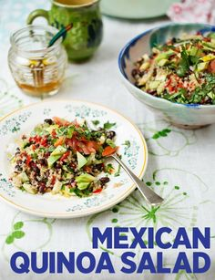 A light and healthy summer meal from the Hemsleys, ready in just 35 minutes