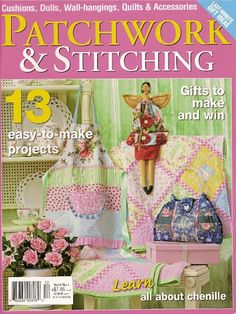 . Patchwork & stitching vol 8 nº 1 - Zecatelier - Picasa Web Albums...patterns and instructions!