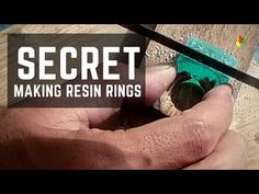 DIY. MAKING RESIN RING FROM RESIN AND WOOD / RESIN ART - YouTube Wood Resin, Resin Art, Making Resin Rings, Buy Resin, Resin Crafts, Youtube, Diy, Bricolage, Do It Yourself
