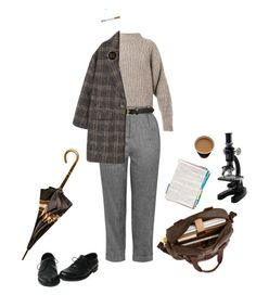 """the scientist"" by unwriteable ❤ liked on Polyvore featuring Loewe, Isabel Marant, Topshop, Tory Burch and MANGO"