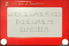 Can still write my name in cursive on these Etch a Sketch