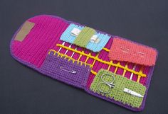 crochet cases & bags on Pinterest Crochet Hook Case ...