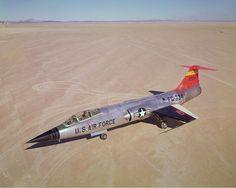 YF-104A, 734, 1960