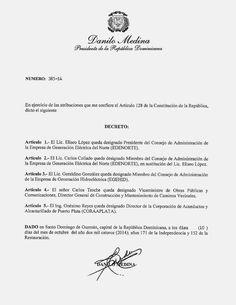 Revista El Cañero: Decreto 385-14