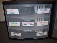 Mrs. Terhune's First Grade Site!: Organization