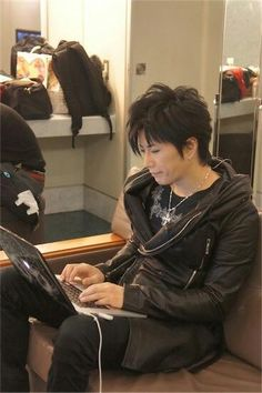 Gackt  --- maybe a hairstyle for the boy