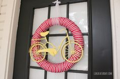 Summer Bicycle Wreath : Like a Saturday