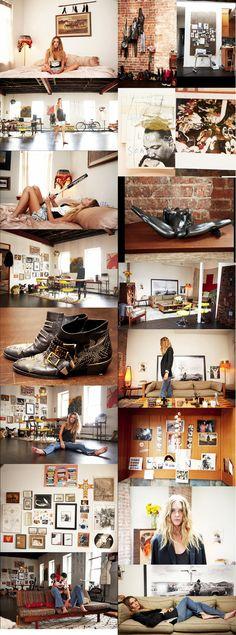 Erin Wasson's appartement