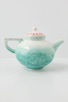 Morning Petrichor Teapot #anthropologie