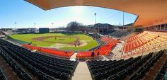 The beautiful Doug Kingsmore Stadium!