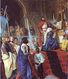 La Jura de Santa Gadea es una leyenda medieval transmitida por el «Romance de la Jura de Santa Gadea», en la que se narra el juramento que e hubo de prestar el rey Alfonso VI el Bravo en la iglesia de Santa Gadea de Burgos, a finales del año 1072, a fin de demostrar que no había tomado parte en el asesinato de su propio hermano, el rey Sancho II el Fuerte, quien había sido asesinado durante el Cerco de Zamora, que se hallaba en manos de su hermana, la infanta Urraca.