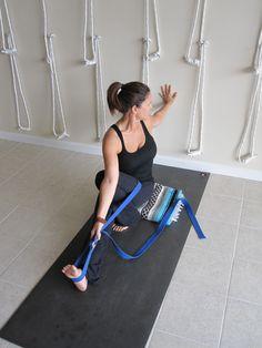 Supported Mari III Yoga Props, Restorative Yoga, Iyengar Yoga, Asana, Yoga Inspiration, Yoga Routines, Health Fitness, Poses, Twists