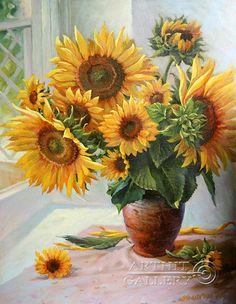 Image result for sunflower art