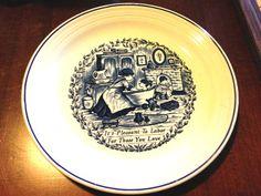 Vintage Decorative Plate-England by CoffeeCreekVintage on Etsy