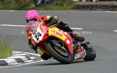 Davy Morgan. Isle of Man TT 2014