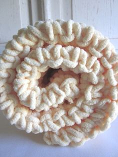 Plush supersoft crocheted baby blanket  POPCORN by peanuttree, $30.00