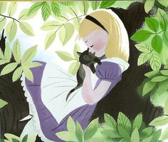 Alice in wonderland | Illustrator: Mary Blair