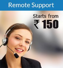 ITSupportDesk Remote Support Services  * 16 / 7 / 365 Remote Online support, * Resolve OS and Application S/w Problems Over the internet, * Remove Virus, Malware, Spyware over the Internet, * Configure PC/Laptop for optimum Security online, Call us now: +(0)80 40 44 55 66, Visit:www.itsupportdesk.in