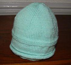 photo tricot tricot modele bonnet naissance 11