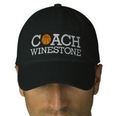 Basketball Coach - SRF Baseball Cap