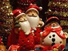 Père Noel - au marché de Noel de Strasbourg