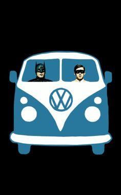 #Batman #robin #dubmobile #awesome