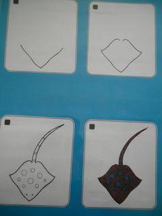 Rog tekenen met stappenplan (A3) *liestr*