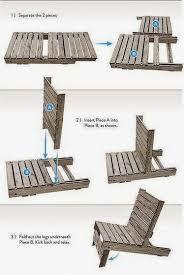 Resultado de imagen para como hacer muebles de palets paso a paso