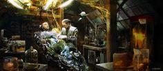 Dr. Frankenstein, Andrzej Dybowski on ArtStation at…