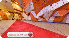 Stone Summit Climbing and Fitness Center. Largest indoor climbing gym in Atlanta.