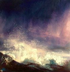 The Spirit of Water, John O'Grady - http://www.johnogradypaintings.com/available/available-ireland/ - this atmospheric landscape painting shows the elemental force you can experience on the coast of Ireland. To find out more about the painting, you can visit my blog http://www.johnogradypaintings.com/the-spirit-of-water-253/
