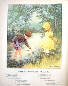 Clara M. Burd A child's garden of verses