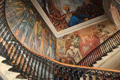 Los murales del Palacio de Gobierno fueron realizados por Alfredo Zalce, ¡no dejes de admirarlos! #SomosMichoacán