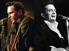 "The spitting image of the country singer, actor Joaquin Phoenix played the complicated Johnny Cash in the 2005 biopic ""Walk The Line."" Phoenix provided his own vocals and learned to play guitar for the role that earned him an Oscar nomination."